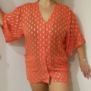 Poema mod cloth cover up Size S